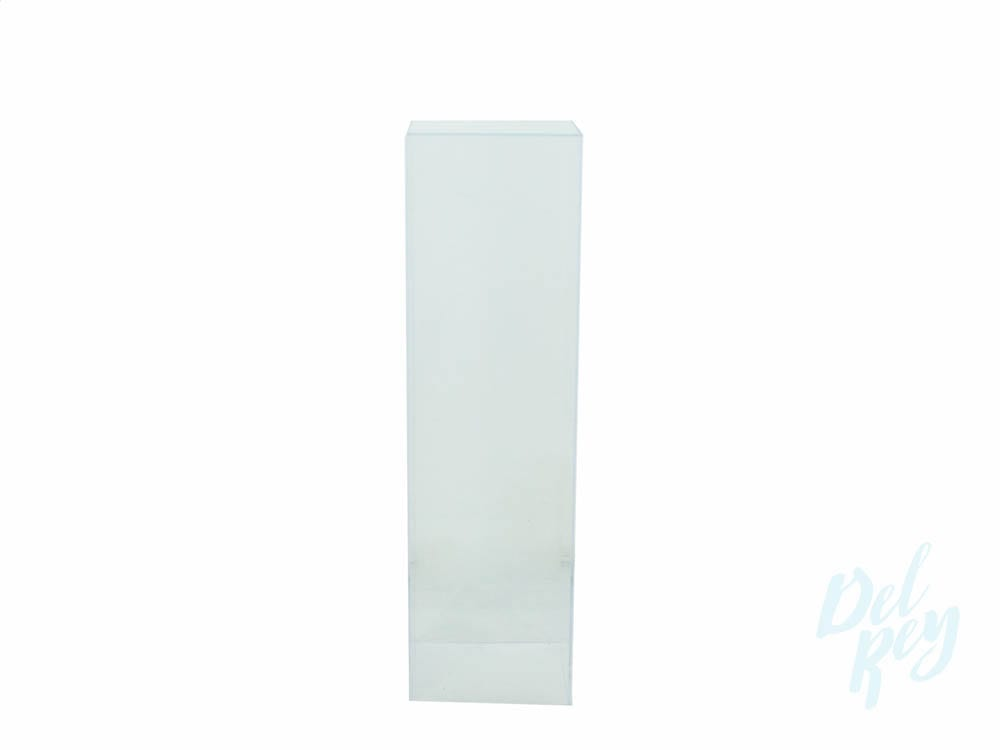 Clear Pedestal Column