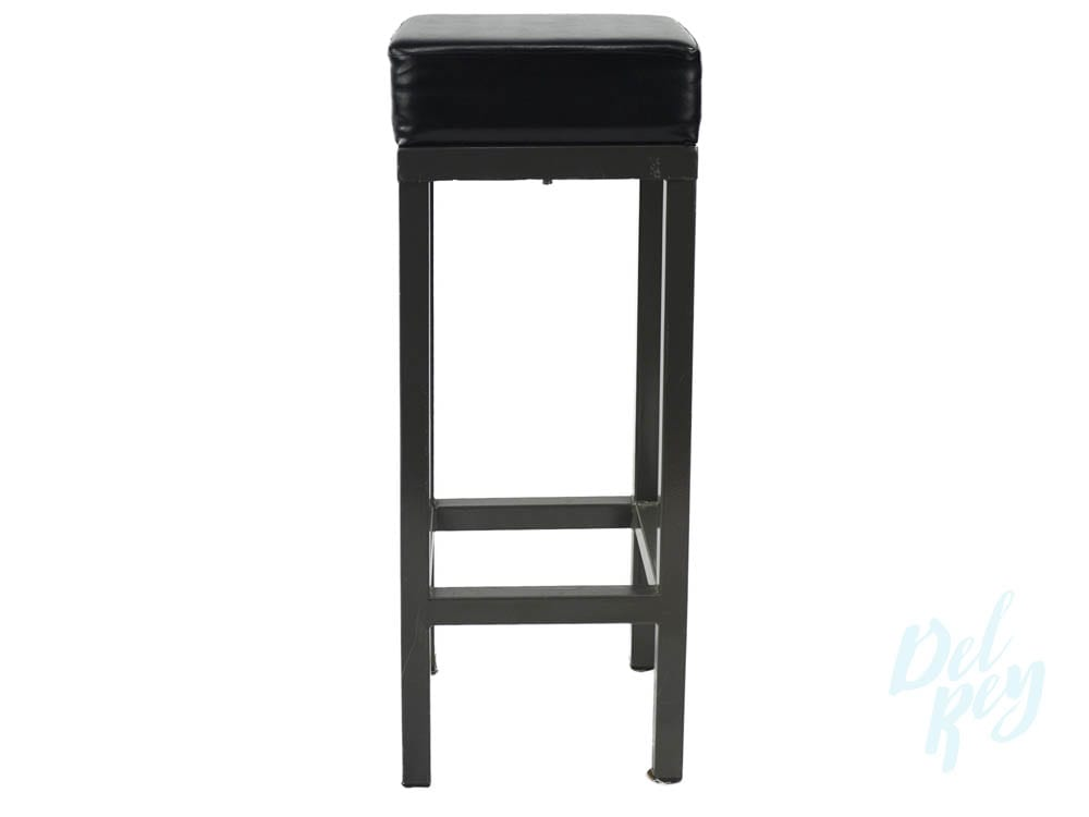 Black Padded Bar Stool Metal Bar Stool Rental Padded